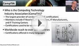 Professor Messer Security+ Course Overview - CompTIA