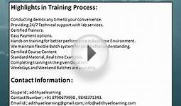 QTP Certification online Training Hyderabad-adithyaelearning