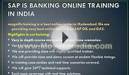 sa is banking online training