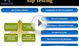 Sap Testing online classes and training and certification 1