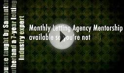 Set Up & Run Your Own Online Letting Agency (UK), Course