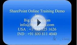 SharePoint 2010 Online Training | Microsoft SharePoint