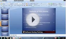 Software Testing Online Training Course Overview