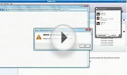 Stop Web Conferencing Download Fail | Use GlobalMeet Web