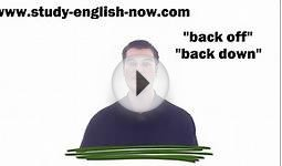 Study English Online for Free Learn Phrasal Verbs and