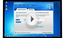 TeamViewer 7 - How to start an instant online meeting