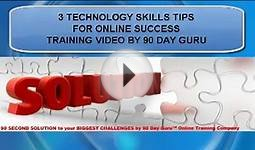 Technology Skills Online Training by 90 Day Guru E-Learning