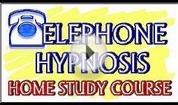 Telephone Hypnosis Training Course - Webinar Video Ad