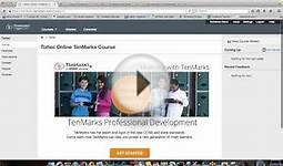 TenMarks Online Certification Course Instructions