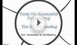 Tools for Successful Teleworking - The Virtual Meeting