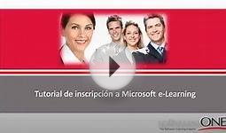 Tutorial Microsoft e-Learning