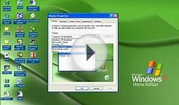 Video Training on Windows XP