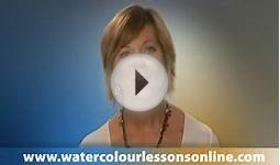 Watercolor Painting Lessons Online - FREE - Tutorials by