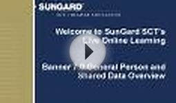 Welcome to SunGard SCTs Live Online Learning Banner 7.0