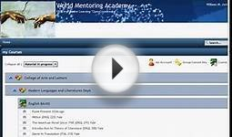 World Mentoring Academy Intro Free online University