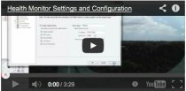video tutorial on how to configure your health monitoring system for security software